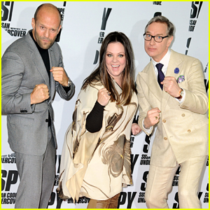 Melissa McCarthy & Jason Statham Get Silly at 'Spy' Berlin Premiere