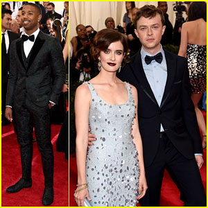 Michael B Jordan Makes Us Swoon at Met Gala 2015