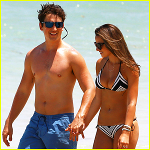 Miles Teller & Girlfriend Keleigh Sperry Make One Gorgeous Couple!