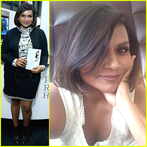 Mindy Kaling Debuts New Bob at BookExpo America