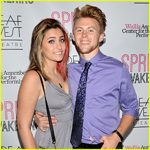 Paris Jackson & Boyfriend Chester Castellaw Make Red Carpet Debut!