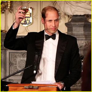 Prince William Celebrates Tusk Trust's 25th Anniversary at the Queen's Castle!