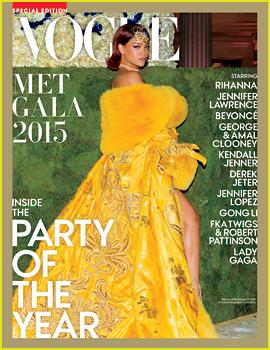 Met gala rihanna yellow dress 2018 vogue