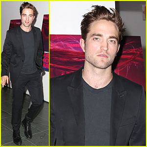 Robert Pattinson Looks Suave at 'Heaven Knows W