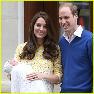Royal Baby Girl's First Photos with