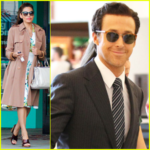 Ryan Gosling Films 'The Big Short' in New Orleans While Eva Mendes Spends Time in Santa Monica