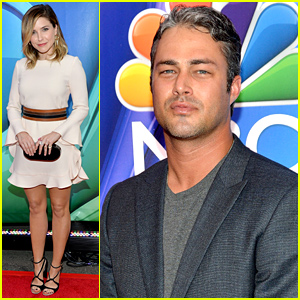 Sophia Bush & Taylor Kinney Promote the 'Chicago' Shows at NBC Upfront 2015!