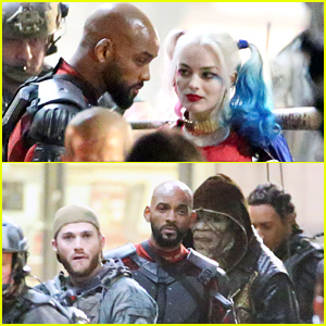 'Suicide Squad' Cast Continues Filming Sans Jared Leto!