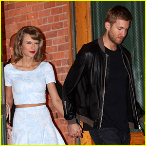 Taylor Swift & Calvin Harris Hold Hands for NYC Date Night!