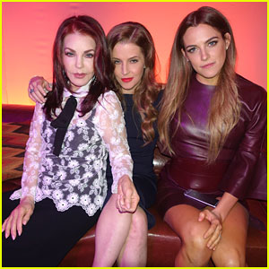 Riley Keough, Lisa Marie & Priscilla Presley Represent Three Generations of Presley's at 'Mad Max' Premiere