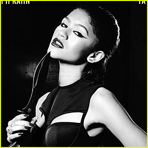 Zendaya Looks Pretty Cut-Throat in Taylor Swift's 'Bad Blood' Music Video Poster
