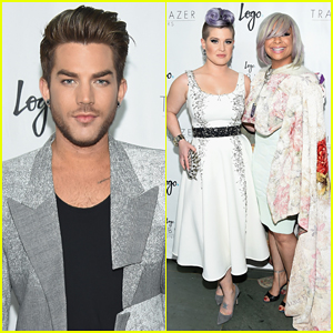 Adam Lambert, Kelly Osbourne & Raven-Symone Are Trailblazers at Logo Honors 2015!
