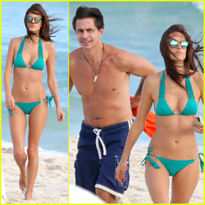Alessandra Ambrosio Flaunts Sexy Bikini Body During Beach Vacation