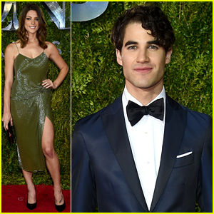 Ashley Greene & Darren Criss Have a Broadway Night at the Tony Awards 2015