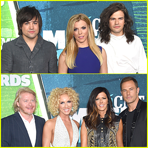 The Band Perry & Little Big Town Are Perfect Nominees at CMT Music Awards 2015 Red Carpet