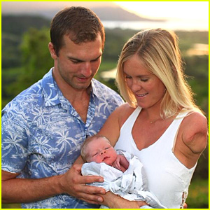 Surfer Bethany Hamitlon & Husband Adam Dirks Welcome Son