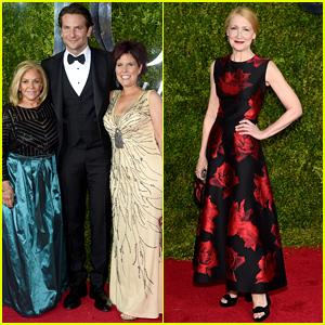 Bradley Cooper & Patricia Clarkson Represent 'Elephant Man' at the Tony Awards 2015!
