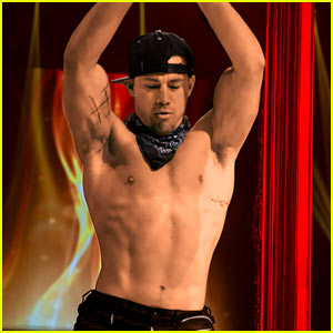 Channing Tatum Surprises with Stripper Moves in Vegas! (Video)