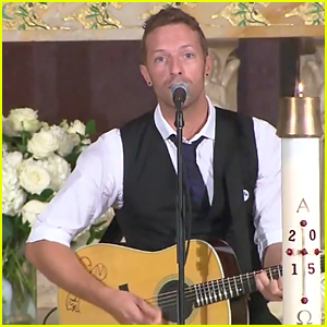 Chris Martin Sings 'Til Kingdom Come' at Beau Biden Funeral - Watch Here!