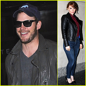 Chris Pratt Should Be President, Co-Star Bryce Dallas Howard Says!