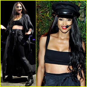 Ciara Dances Like She's Making Love at Revolve Party!