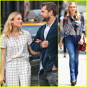 Diane Kruger Gives Loving Look to Joshua Jackson in NYC