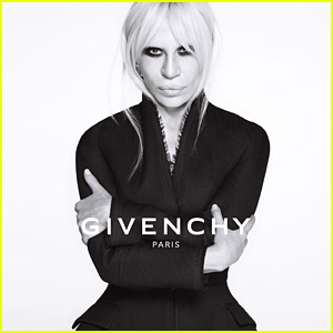 Donatella Versace Named the New Face of Givenchy - See Her Campaign Photos!