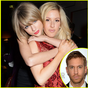 Ellie Goulding Played Matchmaker for Pals Taylor Swift & Calvin Harris