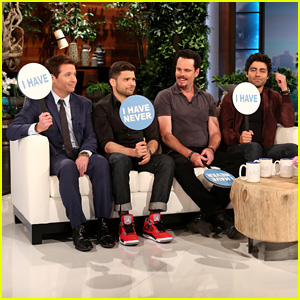 Watch the 'Entourage' Guys Play 'Never Have I Ever' on 'Ellen'!