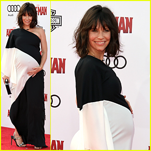 Evangeline Lilly Reveals She's Pregnant at 'Ant-Man' Premiere - See Her Baby Bump