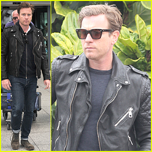 Ewan McGregor Jets to London Ahead of Edinburgh International Film Festival 2015