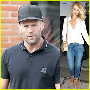 Jason Statham May Have Just Shaved Off His Eyebrows (PHOTOS)