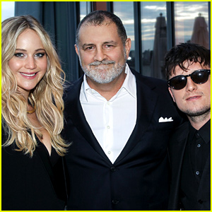 Jennifer Lawrence & Josh Hutcherson Reunite at 'Hunger Games' Event in New York!