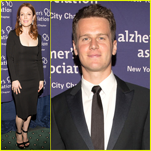 Julianne Moore & Jonathan Groff Help Raise Awareness for Alzheimer's Disease at Forget-Me-Not Gala 2015!