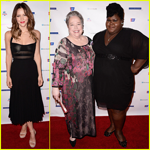 Katharine McPhee & Kathy Bates Step Out for Good Cause at American Cancer Society's Birthday Ballat 2015!