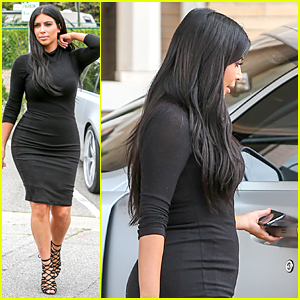 Kim Kardashian Satisfies Her Pregnancy Cravings Following Kanye's Birthday