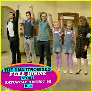 Lifetime's Unauthorized 'Full House' Movie Gets First Trailer!