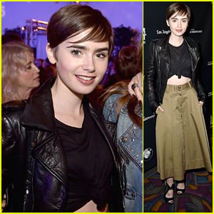 Lily Collins Gets Honorary 'Fast Times At Ridgemont High' Alumni Status For LA Film Festival