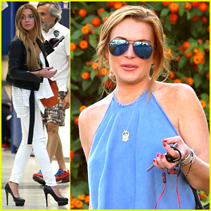 Lindsay Lohan Launches New Collection With Lavish Alice