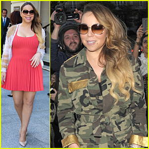Mariah Carey Takes Her Adorable Twins to Disneyland Paris