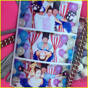 Nina Dobrev & Austin Stowell Couple Up at Jaime King's Baby Shower!
