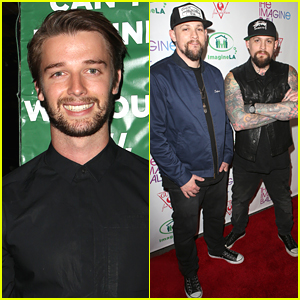Patrick Schwarzenegger Lights Up Imagine Ball 2015 With Joel & Benji Madden