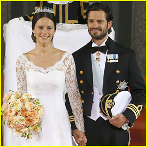 Prince Carl Philip & Sofia Hellqvist Marry in Sweden - See Her Wedding Dress!