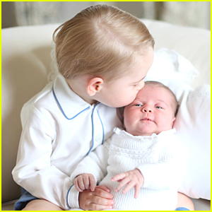 Prince George & Princess Charlotte Share More Sweet Moments Together - See Four Official Pics!