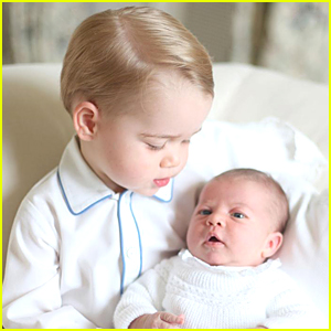 Princess Charlotte & Prince George Are So Cute & Precious in First Official Pic Together