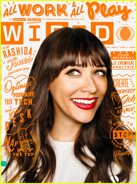 Rashida Jones Opens Up On Accepting Failure & Imperfection in 'Wired'