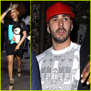 Rihanna & Soccer Star Karim Benzema Spend More Time Together