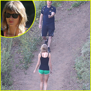Taylor Swift Was Photographed Hiking Backwards & Her Explanation Is Pretty Great!