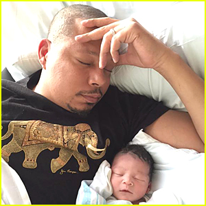 Terrence Howard Posts First Cute Photo of Baby Boy Qirin