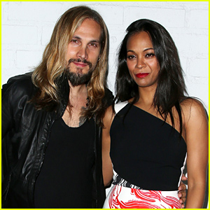 Zoe Saldana Responds to 'Buzz' About Marco Perego Taking Her Last Name